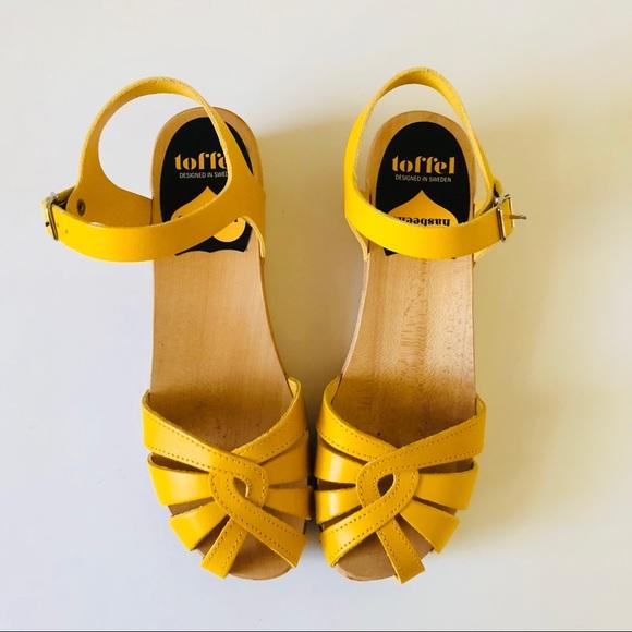 a31f500a8ec Swedish Hasbeens Cross Strap Debutant Sandal